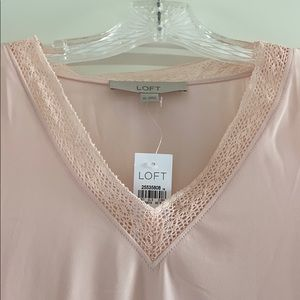 LOFT Tops - Loft Blush Blouse. NWT!!!
